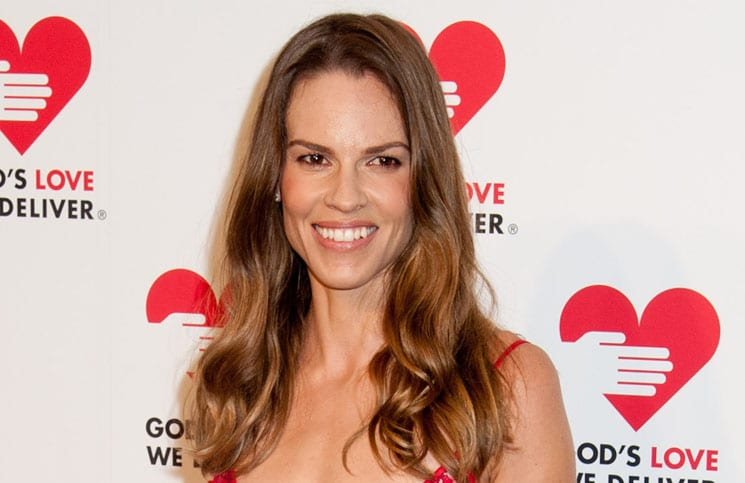 Hilary Swank - God's Love We Deliver 2013 Golden Heart Awards