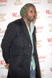 Idris Elba - Naomi Campbell's Fashion For Relief Pop-Up Store Launch Party Benefiting the 2014 Ebola Outbreak