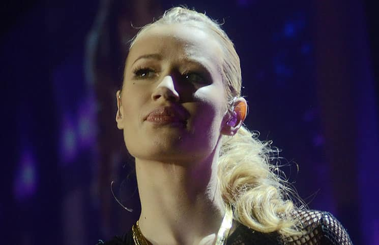 Iggy Azalea - 103.3 KISS FM Jingle Ball 2014 at Allstate Arena in Rosemont