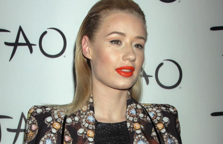 Iggy Azalea Hosts The Night at Tao Nightclub in Las Vegas