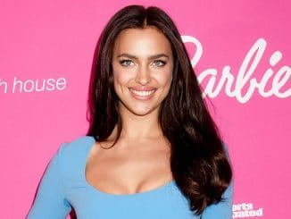 Irina Shayk - Barbie Celebrates 50th Anniversary of Sports Illustrated Swimsuit