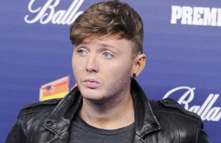 James Arthur - 40 Principales Awards 2013 at Palacio de los Deportes in Madrid