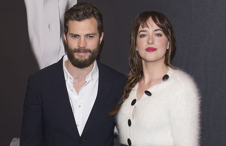 "Jamie Dornan, Dakota Johnson - ""Fifty Shades of Grey"" New York City Fan Screening"