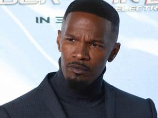 "Jamie Foxx - ""The Amazing Spider-Man 2"" Germany Premiere - Arrivals - Sony Centre"
