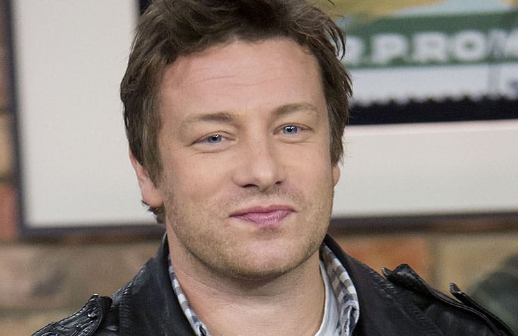 Jamie Oliver Visits The Marilyn Denis Show in Toronto on October 22, 2012