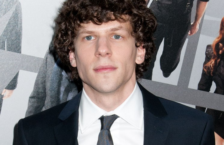 "Jesse Eisenberg - ""Now You See Me"" New York City"