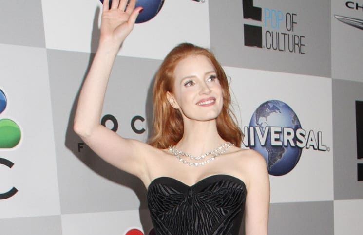 Jessica Chastain - 71st Annual Golden Globe Awards