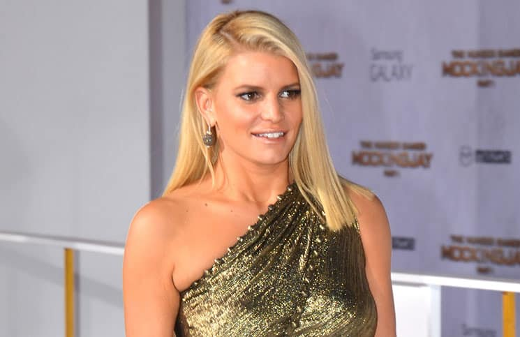 "Jessica Simpson - ""The Hunger Games: Mockingjay - Part 1"" Los Angeles Premiere"