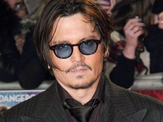 "Johnny Depp - ""Mortdecai"" UK Premiere - Arrivals"