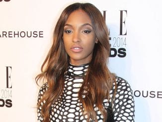 Jourdan Dunn - Elle Style Awards 2014 - Arrivals - One Embankment
