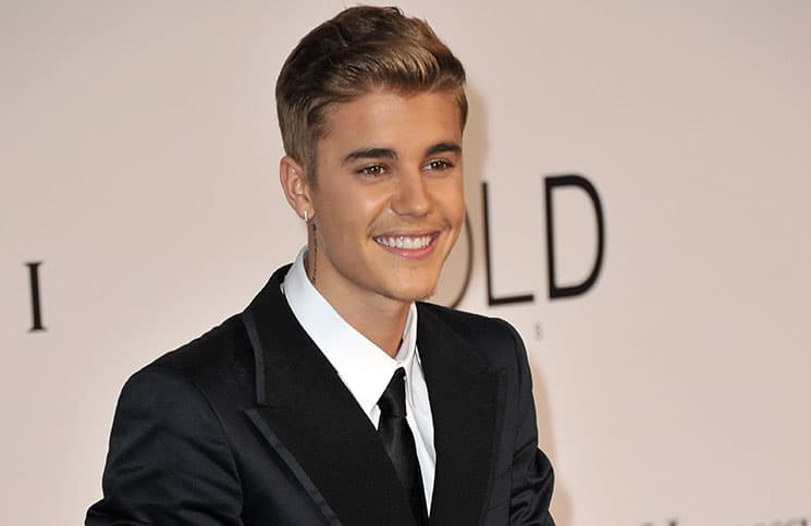 Justin Bieber at the 21st annual amfAR Cinema Against AIDS Gala