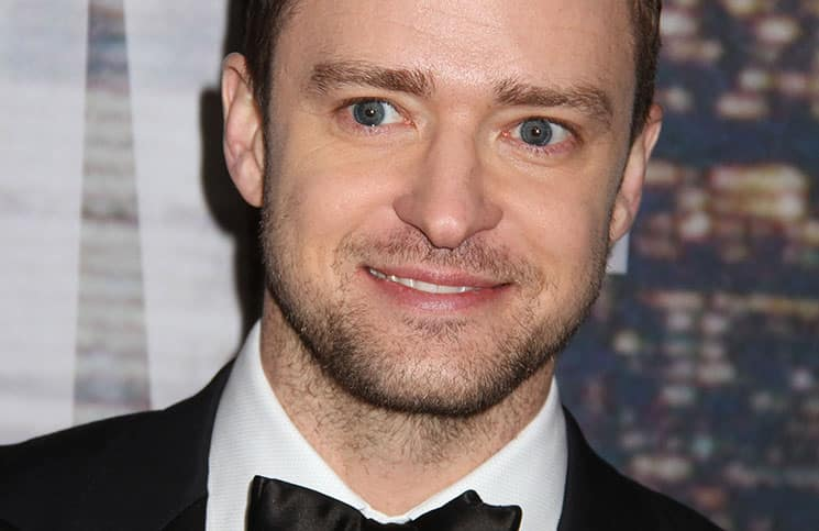 Singer JUSTIN TIMBERLAKE attends the arrivals for SNL 40th Anniversary