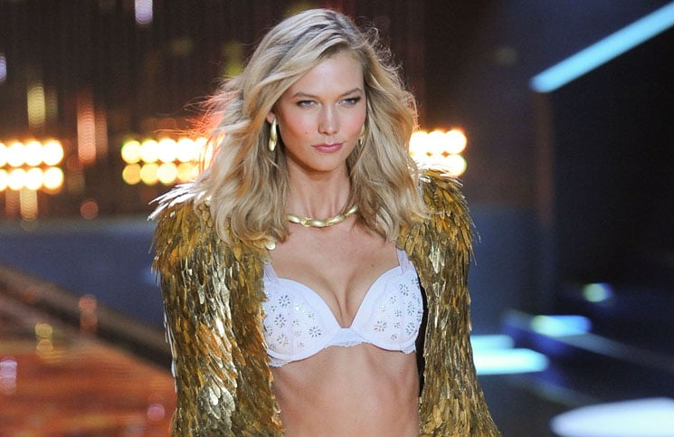 Karlie Kloss - 2014 Victoria's Secret Fashion Show