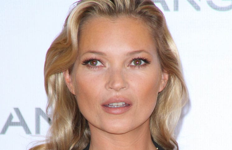 Kate Moss is Announced as the New Face of Mango Fashion at a Press Conference in London