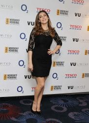 Kelly Brook - 2014 Nordoff Robbins Six Nations Rugby Dinner