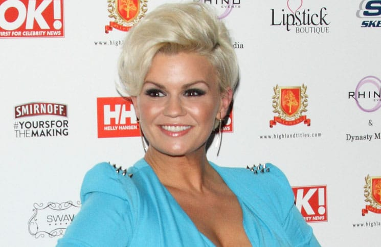 Kerry Katona - 2012 OK! Magazine Christmas Party