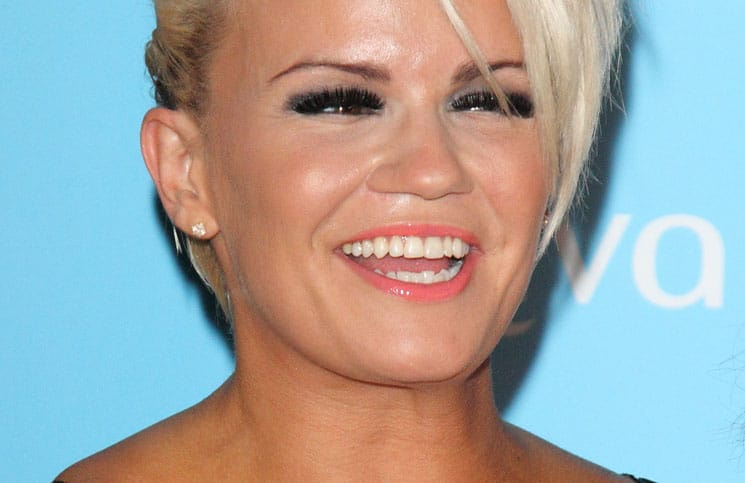 Kerry Katona - Arqiva Commercial Radio Awards 2013