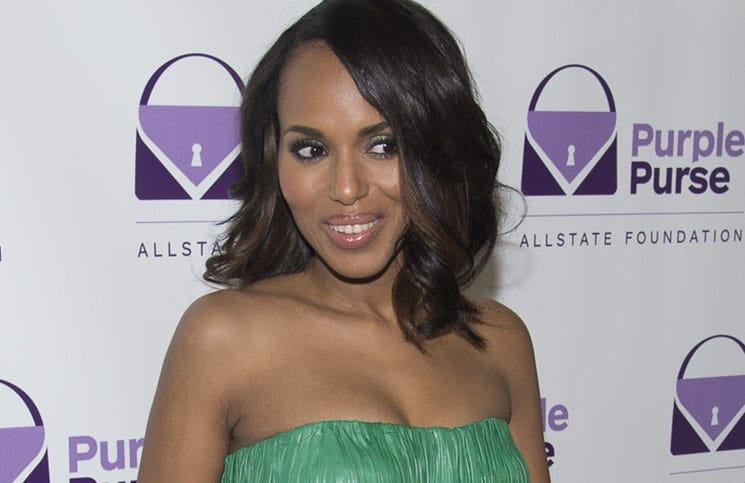 Kerry Washington - 2014 Allstate Foundation Purple Purse Program