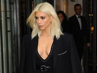 Kim Kardashian sighting during Paris Fashion Week