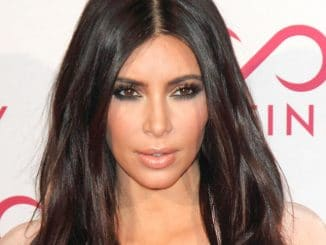 Kim Kardashian - Hairfinity UK Launch Party - Arrivals