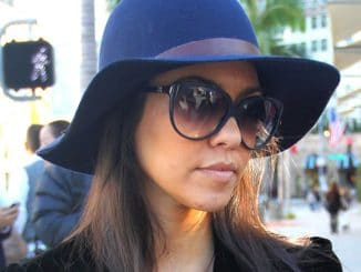 Kourtney Kardashian Sighted Shopping on Rodeo Drive in Beverly Hills