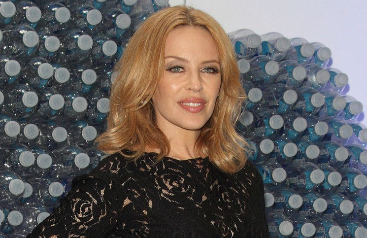 Kylie Minogue Photocall to Launch Glaceau Smartwater at the Dairy Art Centre