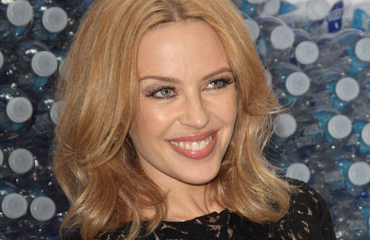 Kylie Minogue Photocall to Launch Glaceau Smartwater at the Dairy Art Centre in London