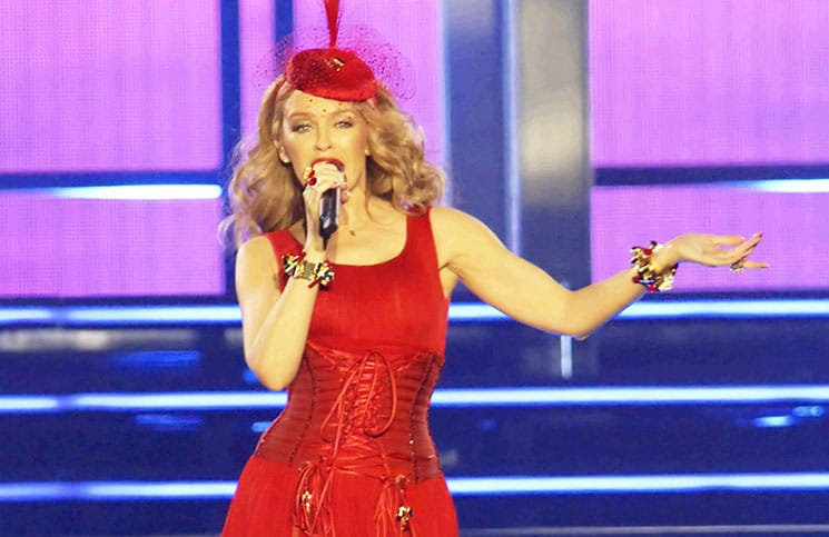 """Kylie Minogue """"Kiss Me"""" Tour in Concert at Echo Arena in Liverpool"""