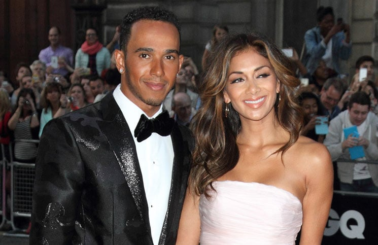 Lewis Hamilton and Nicole Scherzinger - GQ Men of the Year Awards 2014