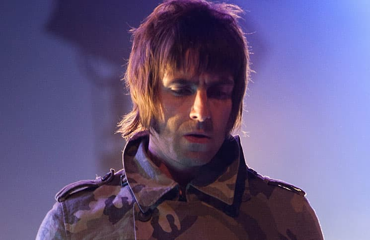 Liam Gallagher - Beady Eye - Reading Festival 2011
