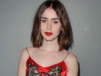 """Lily Collins - Flaunt Magazine's November 2013 """"En Garde!"""" Issue Party"""