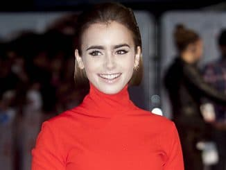 "Lily Collins - ""Love, Rosie"" World Premiere"