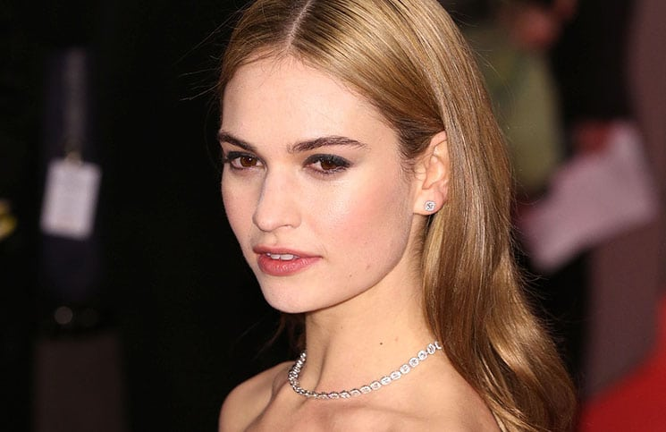"Lily James: ""Cinderella"" war ihr Traum! - Kino News"