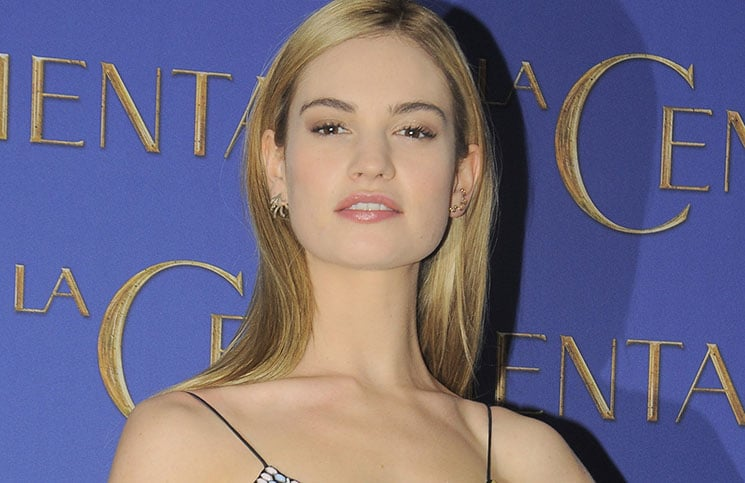 "Lily James - ""Cinderella"" (""La Cenicienta"") Mexico City Photocall"