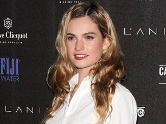Lily James - 1st Annual Battersea Power Station Party