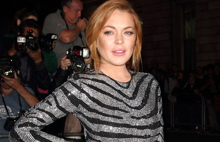 Lindsay Lohan - GQ Men of the Year Awards 2014 - Arrivals