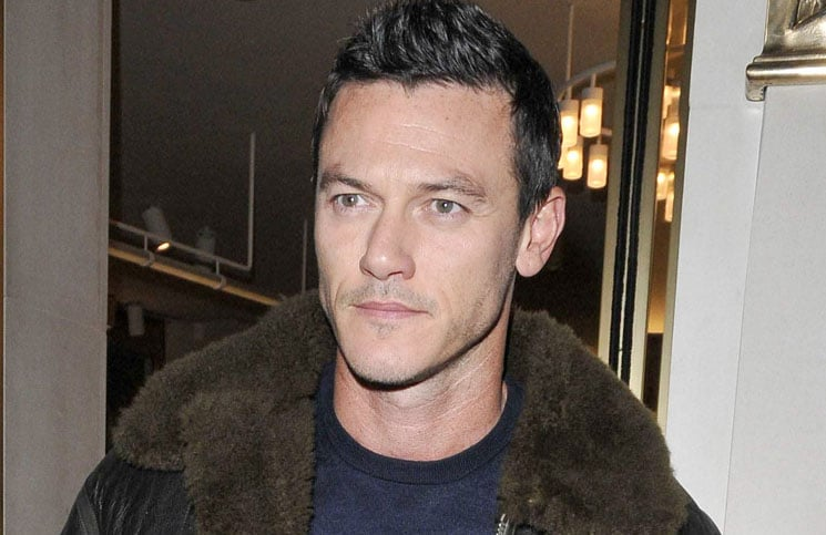 Luke Evans - Bally London Flagship Boutique Opening VIP Launch Party