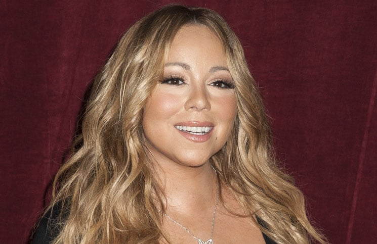"Mariah Carey Announces the Launch of Her Go N'Syde Bottle ""Butterfly"" at Regis Hotel in New York City"