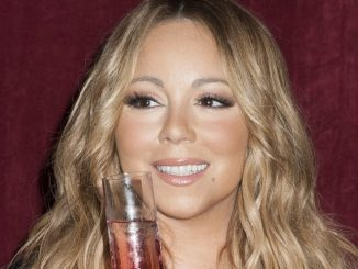 """Mariah Carey Announces the Launch of Her Go N'Syde Bottle """"Butterfly"""" at Regis Hotel in New York"""