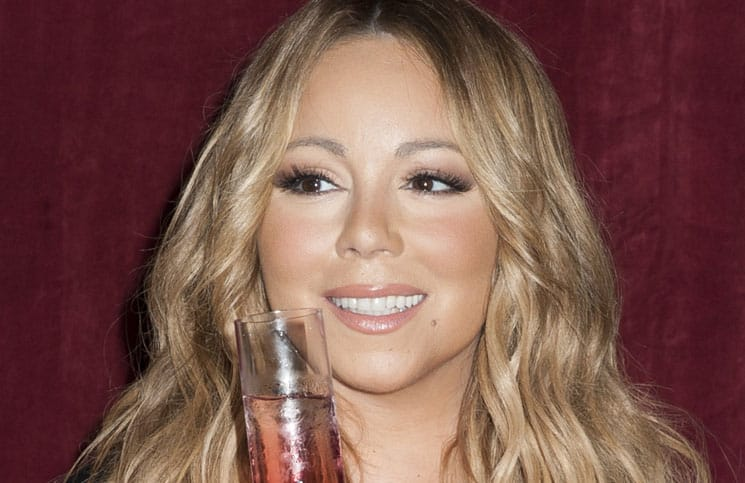 "Mariah Carey Announces the Launch of Her Go N'Syde Bottle ""Butterfly"" at Regis Hotel in New York"