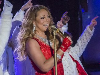 Mariah Carey - 82nd Annual Rockefeller Center Christmas Tree Lighting Concert in New York City
