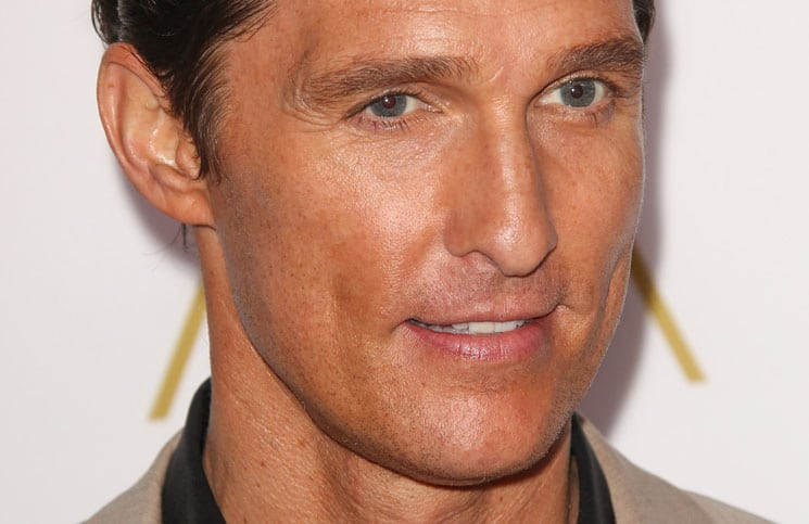 Matthew McConaughey - 86th Annual Oscars Nominee Luncheon - Arrivals