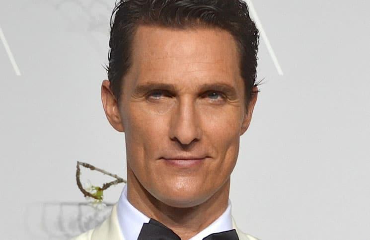 Matthew McConaughey begeistert von