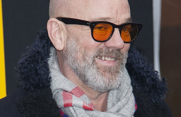 "Michael Stipe - ""American Hustle"" New York City Premiere"