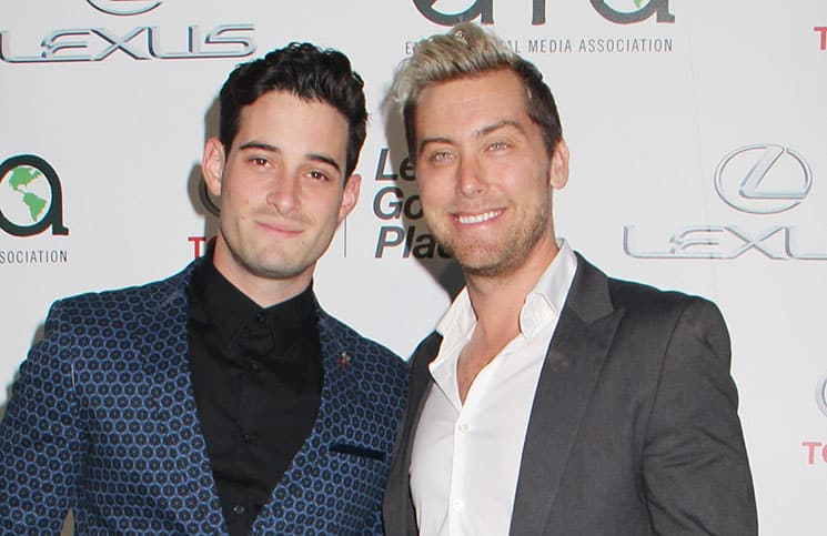 Michael Turchin and Lance Bass - 24th Annual Environmental Media Awards