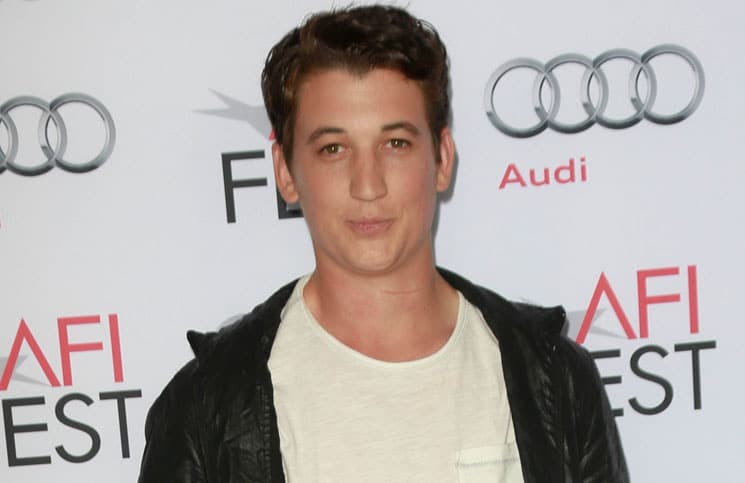 Miles Teller - AFI Fest 2013 - The Los Angeles Times Young Hollywood Roundtable