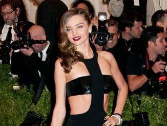 "Miranda Kerr - ""PUNK: Chaos to Couture"" Costume Institute Gala - Arrivals"
