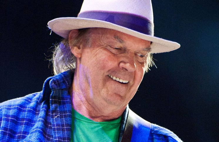 Neil Young - Farm Aid 2012 at Hersheypark Stadium in Hershey