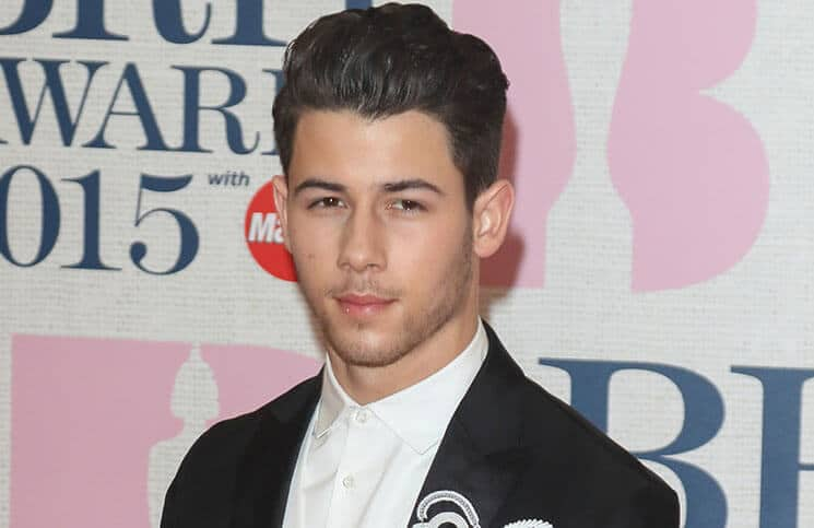 Nick Jonas - BRIT Awards 2015 - Arrivals