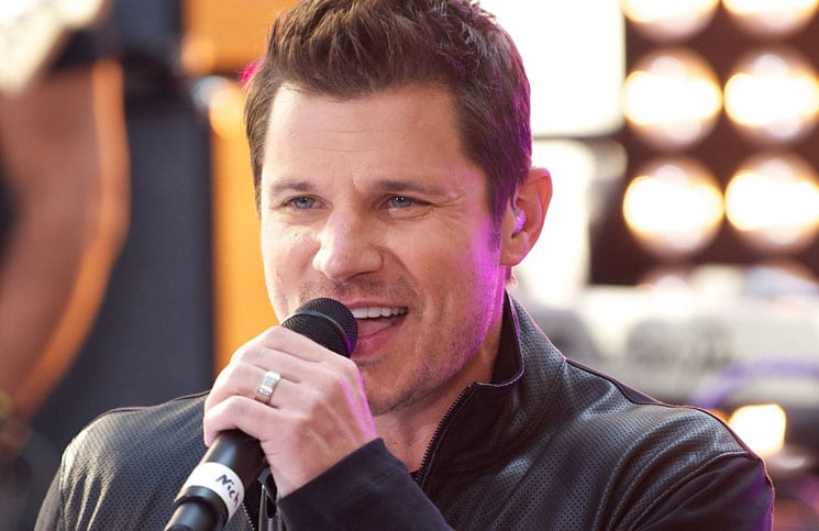 """Nick Lachey - 98 Degrees in Concert on NBC's """"Today Show"""" at Rockefeller Center in New York City"""